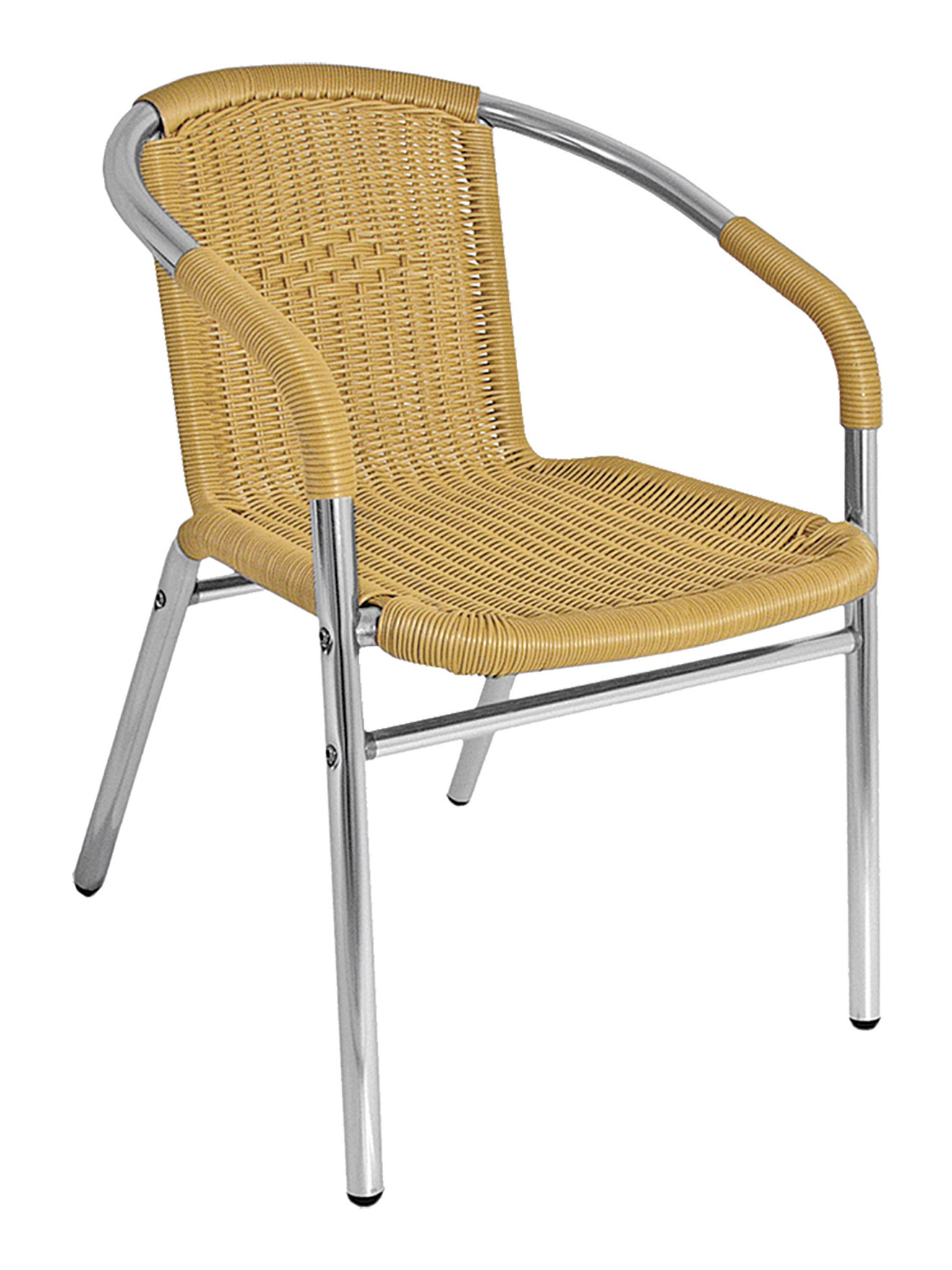 round frame wicker aluminum chair sw21c commercial