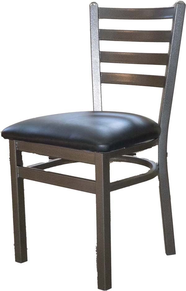 Silvervein Metal Frame Ladderback Side Chair Osl2160svc